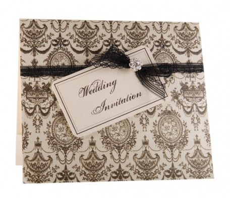 Lovely Favours wedding invitation