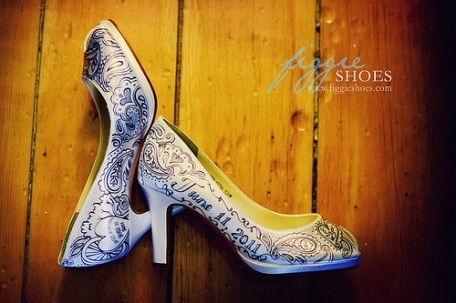 Figgie Shoes - Custom Bridal Shoes