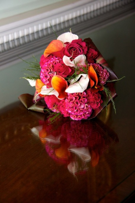 Wedding bouquet, Mellerstain wedding, Scottish Borders