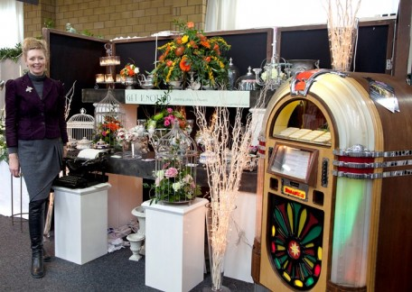 Borders Wedding Show Get Knotted stand