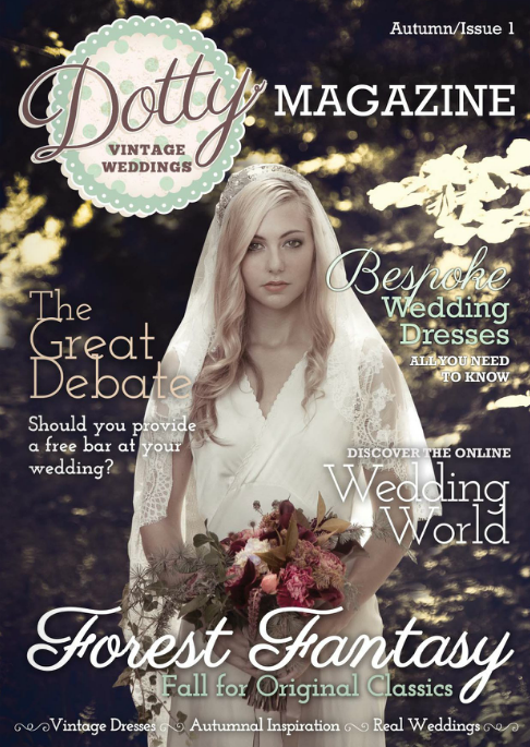 Dotty Vintage Weddings Autumn Issue 1
