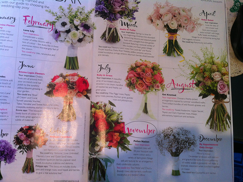 Wedding Flowers & Accessories Nov/Dec 2013
