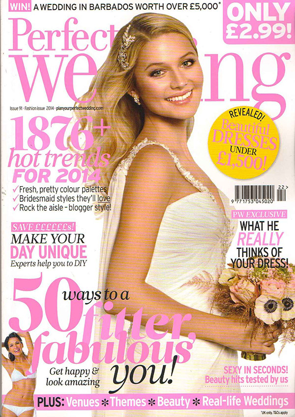 Perfect Wedding Fashion Special January 2014