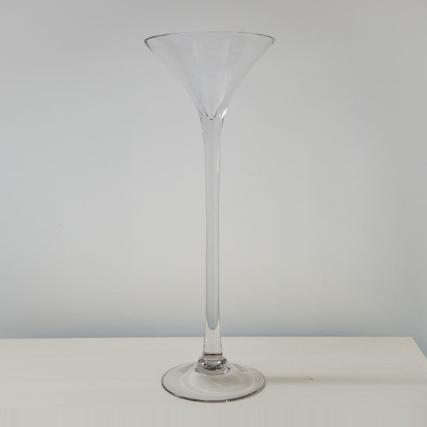 Martini Glass Vases From Get Knotted Wedding Hire Collection