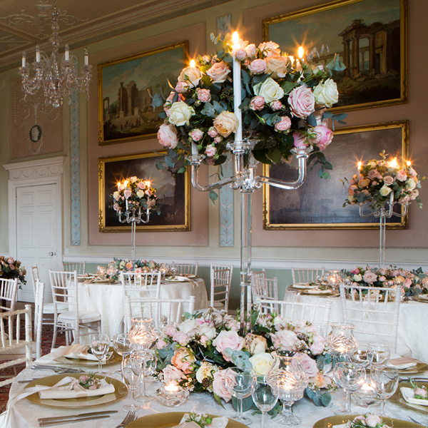Wedding Flowers - Table Centrepieces