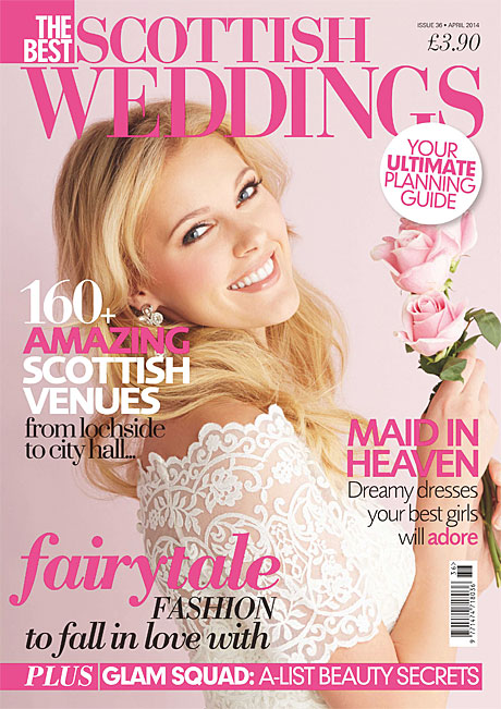Best Scottish Weddings April 2014
