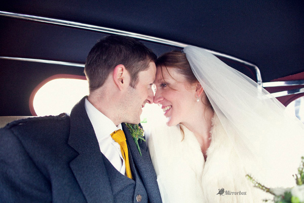 Vintage Wedding at Ednam House Hotel